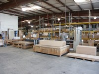 Image of the inside of our warehouse