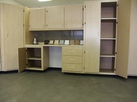 Image of garage cabinets